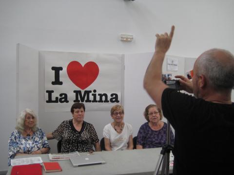 I love la mina