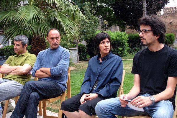 Taula rodona | Jardí de Fang [Loreto Varela, Isaac Gimeno] con Fernando Domínguez i Martí Peran